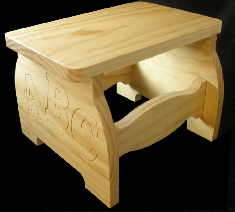 Just Right Child S Step Stool Carvebuddy